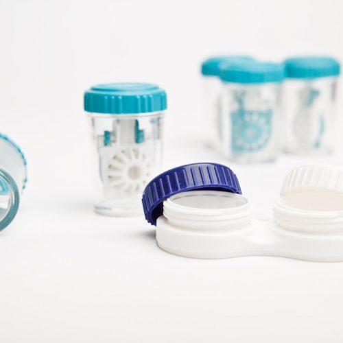 Healthcare And Medicine. Eye Hygiene Care.